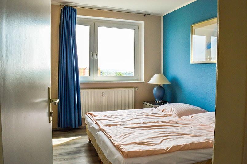 Pension M14 Ferienwohnungen Zimmer mit zwei Betten