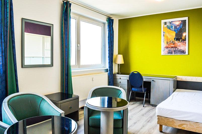 Pension M14 Monteurwohnung Ferienwohnung Groß Lößnig Wohnzimmer